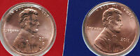 2011 P AND D LINCOLN CENT 2 COIN US MINT SET UNC BLISTER PK ONE CENT PENNY