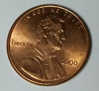 2000 P 1C LINCOLN PENNY CENT