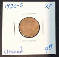 1920-S 1C LINCOLN CENT