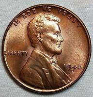1946-D  LINCOLN WHEAT CENT - BU
