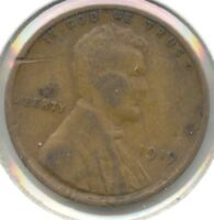 USA 1919 PENNY 1C CENT AMERICAN LINCOLN WHEAT CENT