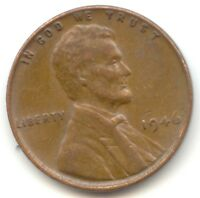 USA 1946 PENNY 1C CENT AMERICAN LINCOLN WHEAT CENT --- EXACT COIN