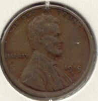 USA 1919 S 1 CENT AMERICAN LINCOLN WHEAT CENT PENNY 1C EXACT COIN SHOWN