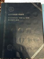 LINCOLN HEAD CENT WHEAT CENT COLLECTION 1909-1940 BOOK 1 WITH 20 CENTS
