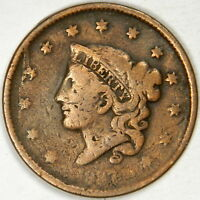 1837 LARGE CENT   PRICED RIGHT  INV223