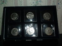 KENNEDY HALF DOLLARS 1976 1981 BUSINESS 6 COINS