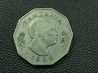 TANZANIA  5 SHILINGI  1989   $ 2.99  MAXIMUM  SHIPPING  IN USA