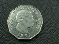 TANZANIA  5 SHILINGI  1992   $ 2.99  MAXIMUM  SHIPPING  IN USA