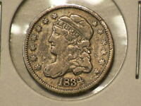 1834 US CAPPED BUST SILVER HALF DIME  G9955