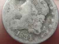 1834 SILVER CAPPED BUST HALF DIME