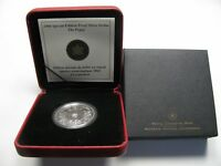 2004 SP ED PROOF $1 POPPY ARMISTICE DAY CANADA .9999 SILVER DOLLAR REMEMBRANCE
