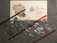 1992 UNITED STATES MINT SET   P&D UNCIRCULATED US COINS