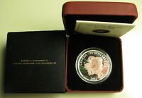2012 PROOF $20 PAINTED WILDFLOWER 3 RHODODENDRON DEWDROPS CRYSTALS CANADA .9999