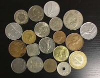 LOT OF 20 DIFFERENT WORLD COINS   C27