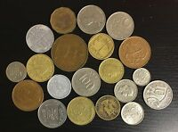LOT OF 20 DIFFERENT WORLD COINS   C23