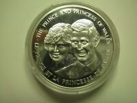 1983 PROOF ROYAL WEDDING PRINCE CHARLES PRINCESS DIANE MEDAL SILVER COIN ONLY