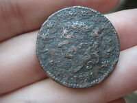 1831 MATRON HEAD LARGE CENT PENNY  LARGE LETTERS METAL DETECTOR FIND?