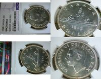 1948 CANADA $1   ONE OF THE MOST WANTED SILVER DOLLARS