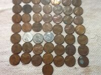 ROLL OF ALL DIFFERENT DATE PENNIES FROM 1909 P VDB -1946