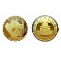 2018 GOLD/SILVER PLATED PANDA BABY COMMEMORATIVE CHALLENGE COIN COLLECTIBLE GIFT