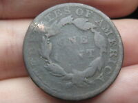 1833 MATRON HEAD LARGE CENT PENNY OLD TYPE COIN