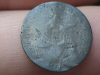 1853 TYPE 1 THREE 3 CENT SILVER PIECE TRIME FIRE DAMAGED?