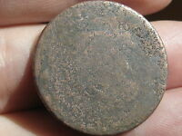 1839 1857 BRAIDED HAIR LARGE CENT PENNY