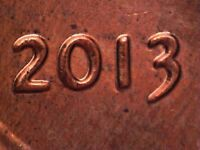 2013 P 1DO 002 WDDO 013 LINCOLN CENT DOUBLED DIE