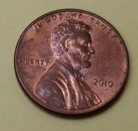 2010 P 1C LINCOLN PENNY CENT C