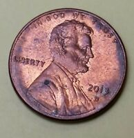 2013 D 1C LINCOLN PENNY CENT C