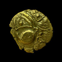 NORTHWEST GAUL AULERCI EBUROVICES CELTIC GOLD HEMISTATER EXCEPTIONAL &