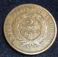 1870 TWO CENT  USA TWO CENTS