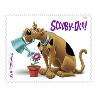 USPS NEW SCOOBY DOO PANE OF 12