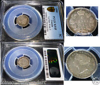 1900 LARGE DATE  FIVE CENTS    PCGS XF45