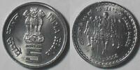 INDIA 5 RUPEES 75 YEARS OF DANDI MARCH 1930- 2005  UNC COIN GANDHI COIN