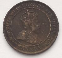 1903 CANADA LARGE ONE CENT COIN