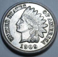 1909 BU SILVER PLATED US INDIAN HEAD CENT PENNY ANTIQUE U.S. CURRENCY MONEY COIN