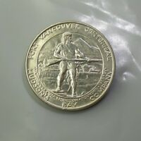1925 FORT VANCOUVER EARLY COMMEMORATIVE SILVER HALF DOLLAR A