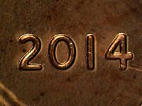2014 P WDDO 007 LINCOLN CENT DOUBLED DIE