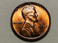 1947 D LINCOLN WHEAT CENT PENNY GEM BU UNCIRCULATED  W249