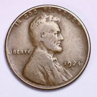 1924-D LINCOLN WHEAT CENT PENNY LOWEST PRICES ON THE BAY  SHIPS FREE