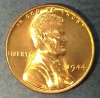 1944-P LINCOLN CENT BU RED