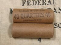 ONE   WASHINGTON STANDING LIBERTY QUARTER ROLL 40 COINS 1932 1964 PDS