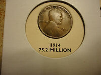 1914  LINCOLN CENT---GETTING HARD TO FIND
