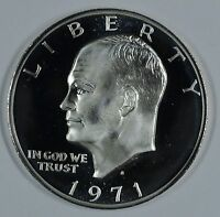 1971 S EISENHOWER 40 SILVER PROOF DOLLAR     SEE STORE FOR DISCOUNTS RD13