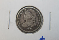 1836  SILVER CAPPED BUST DIME  2