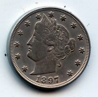 1897-P LIBERTY HEAD NICKEL SEE PROMOTION