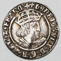 1526   1544 KING HENRY VIII GREAT BRITAIN SILVER GROAT COIN