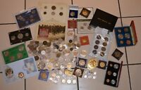 HUGE COIN COLLECTABLE MEDALS MEDALLIONS BULK JOB LOT  POUND