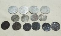 MEDIEVAL SILVER AND COPPER POLISH COIN LOT    NICE